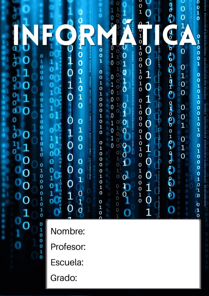 portada de informática