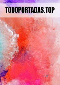 portada abstracta cálida para Word