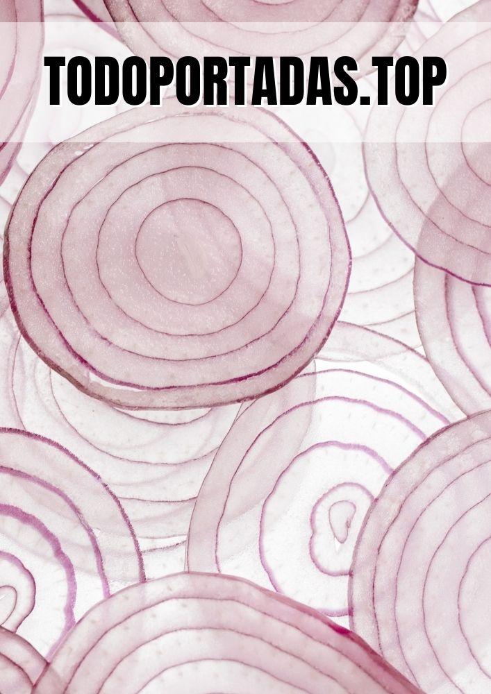 Portada aesthetic círculos concéntricos de cebolla
