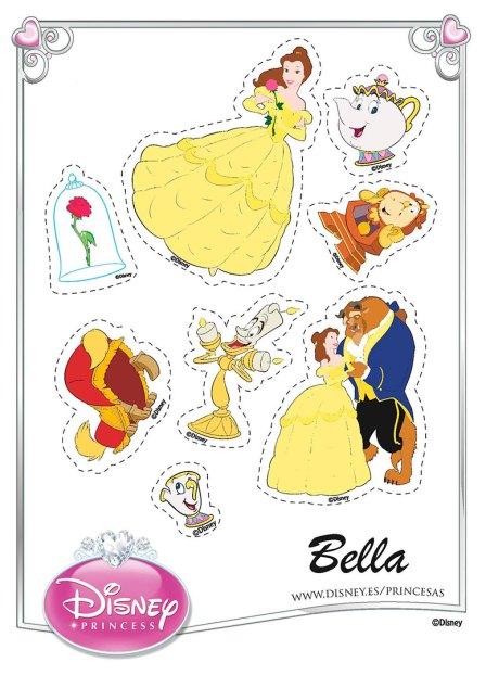 Princesa Bella Stickers