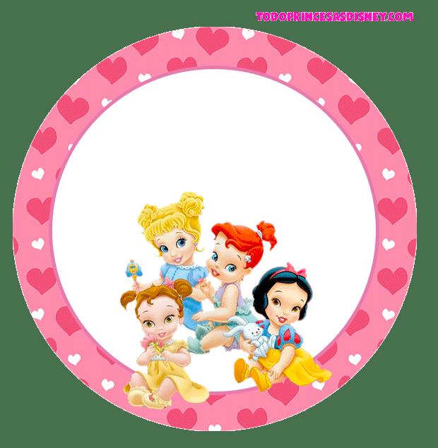 Stickers de Princesas bebes