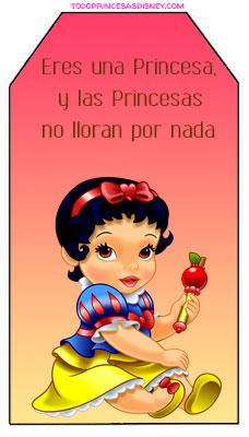 imprimibles de princesas bebes