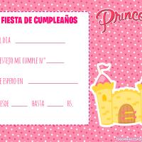 Invitaciones de Cumpleanos Princesas Disney