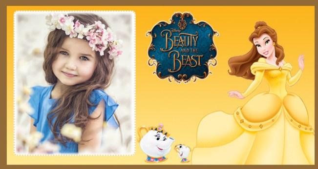 Bella y bestia marcos para fotos