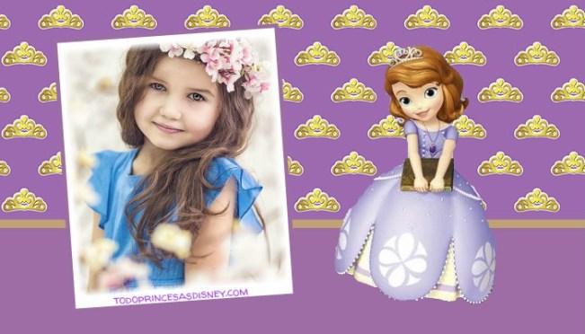 Sofia princesa fotomontajes