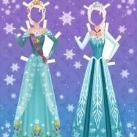 Juego de Frozen para vestir a Elsa y Anna