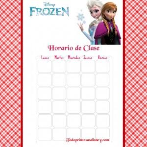 Horario Clase Frozen 1