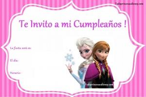 Invitacion Frozen1