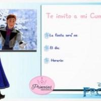 Invitaciones de Cumpleaños de Frozen