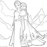 Dibujos de Frozen para pintar