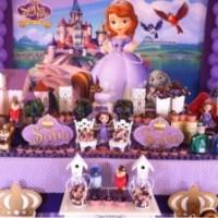 Ideas para decoración de Cumpleaños con Princesita Sofía