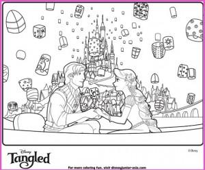Rapunzel y Flynn