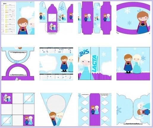 Kit Frozen cute