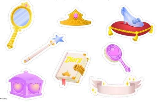 Stickers Princesas