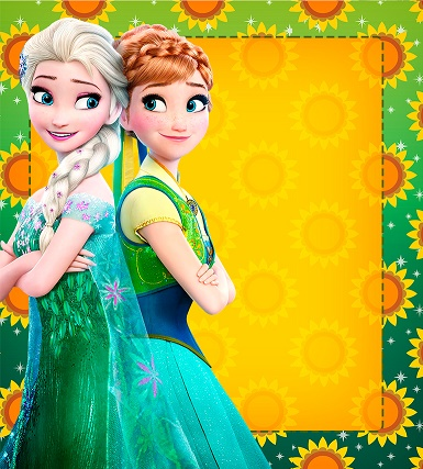 Marcadores de Página Frozen Fever 3