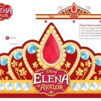 Tiara corona de Elena de Avalor