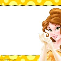 Coleccion Etiquetas de Princesas Disney