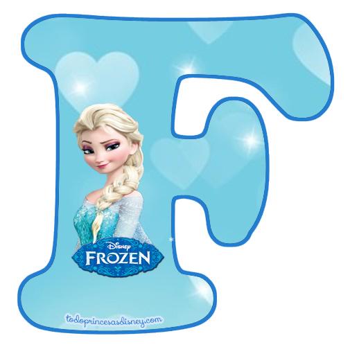 Alfabetos Infantiles Para Imprimir Princesas Disney