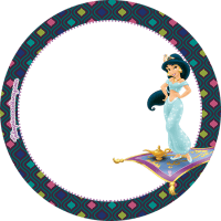 Kit Imprimible Princesa Jasmin Aladdin Descarga gratis