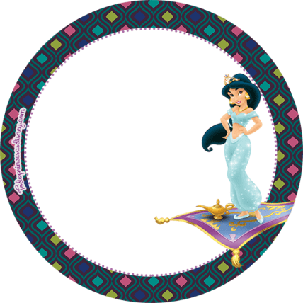 Aladdin Kit Imprimible Gratis - Stickers Aladdin