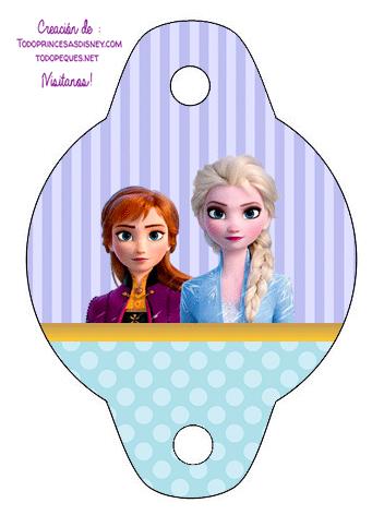 Frozen 2 Adornos cumpleanos decoracion