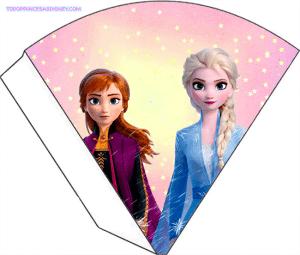 Kits Frozen 2 para Imprimir gratis