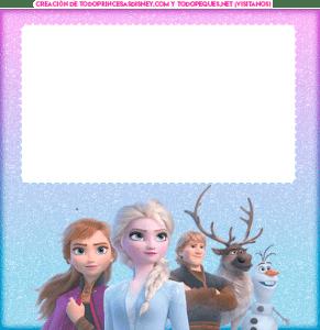 Frozen 2 tarjetas