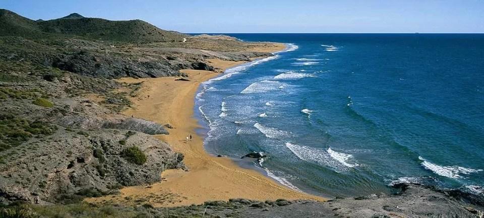 Playas del Parque Regional de Calblanque, en Cartagena.