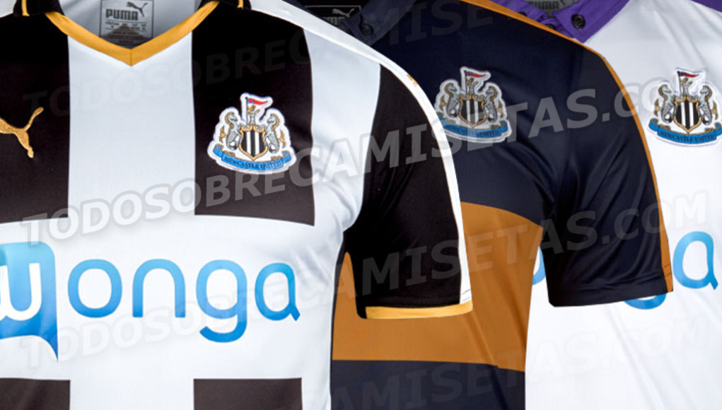 Newcastle 2016 17 Puma Kits LEAKED Todo Sobre Camisetas