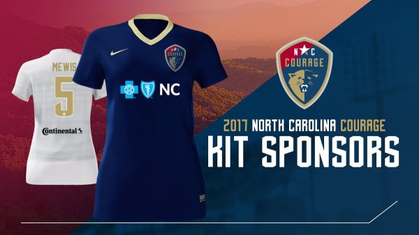 North Carolina Courage Nike 2017 Kits - Todo Sobre Camisetas
