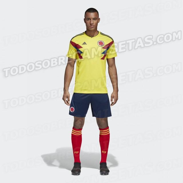 ANTICIPO: Camiseta de Colombia Rusia 2018