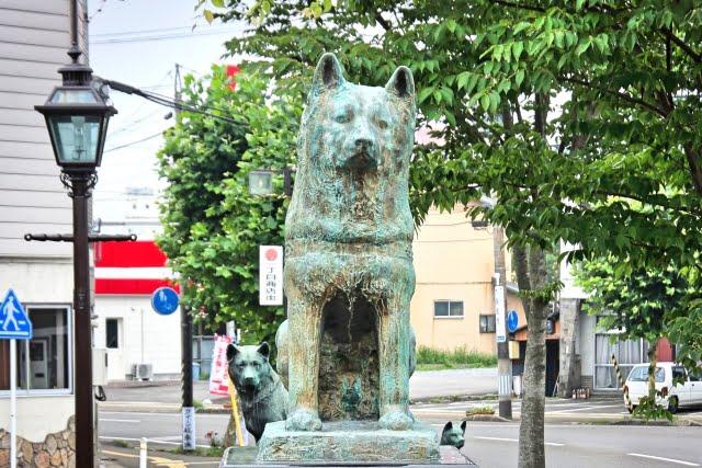 estatua hachiko odate