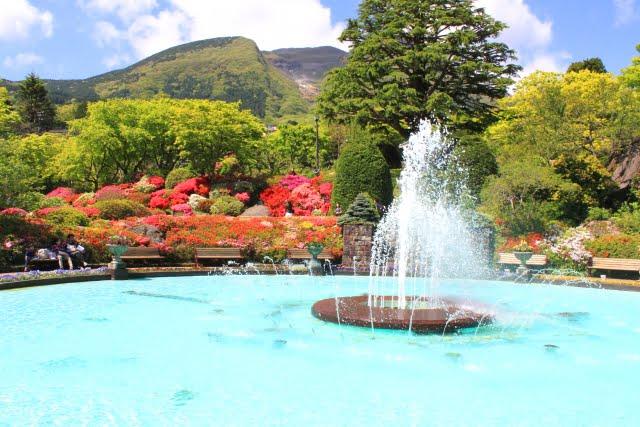colores de verano hakone onsen