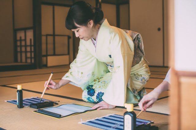 Calligraphy japanese activity