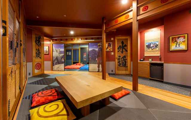 hoteles japoneses tematicos anime love japon