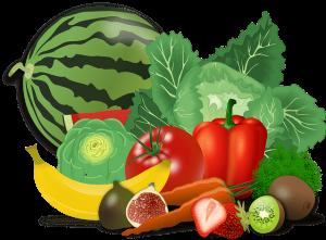 Verduras para cobayas