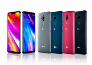 Colores del LG G7 ThinQ