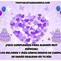 Tarjetas de cumpleaños para una persona especial