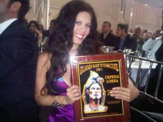 Lorna Cepeda ganadora
