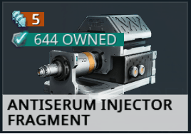 Antiserum Injector