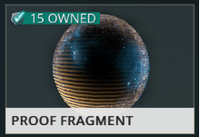trade Proof Fragment