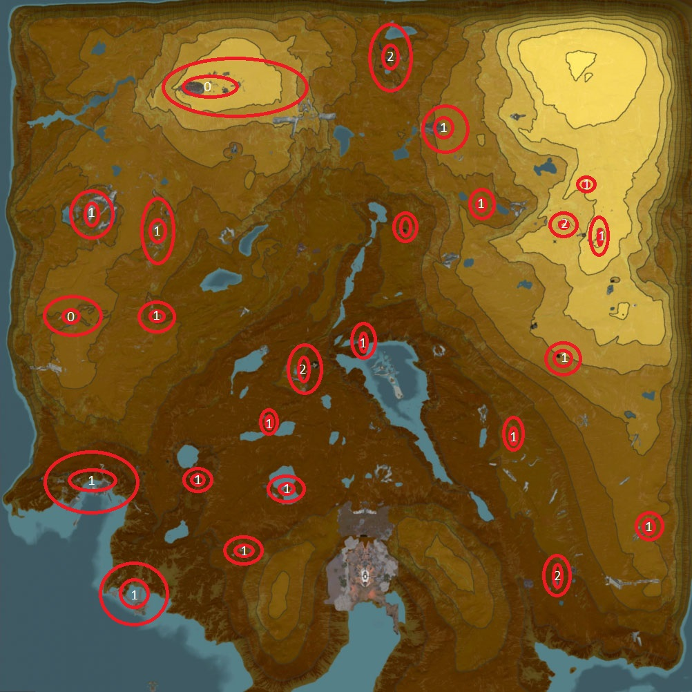Señuelos Eidolon Lures Map