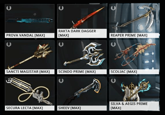 Arsenal Melee Weapons EN