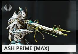 Warframe Ash Prime EN