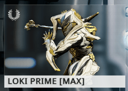 Warframe Loki Prime ES