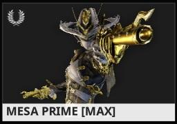 Warframe Mesa Prime