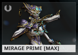 Warframe Mirage Prime ES