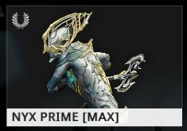 Warframe Nyx Prime EN