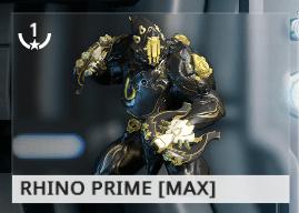 Warframe Rhino Prime EN