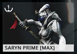 Warframe Saryn Prime ES